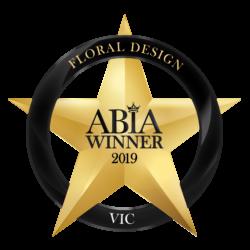 2019 ABIA Winner Awards | Thrive Flowers & Events: Award Winning Florists Melbourne
