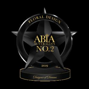 2019 ABIA Winners Award | Thrive Flowers & Events: Award Winning Florists Melbourne