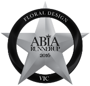 2016 ABIA Runner-UP Awards | Thrive Flowers & Events: Award Winning Florists Melbourne