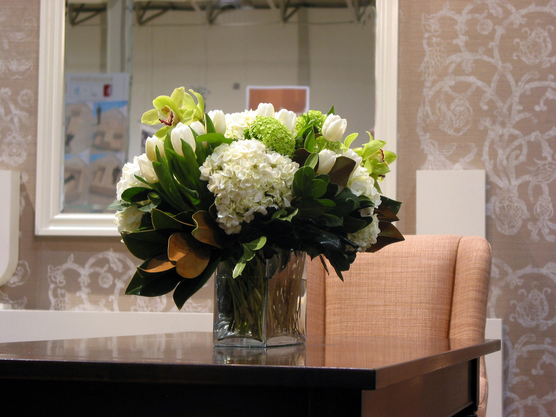 Corporate and Cafe Flowers | Thrive Flowers and Events, Flowers for Your Office Space