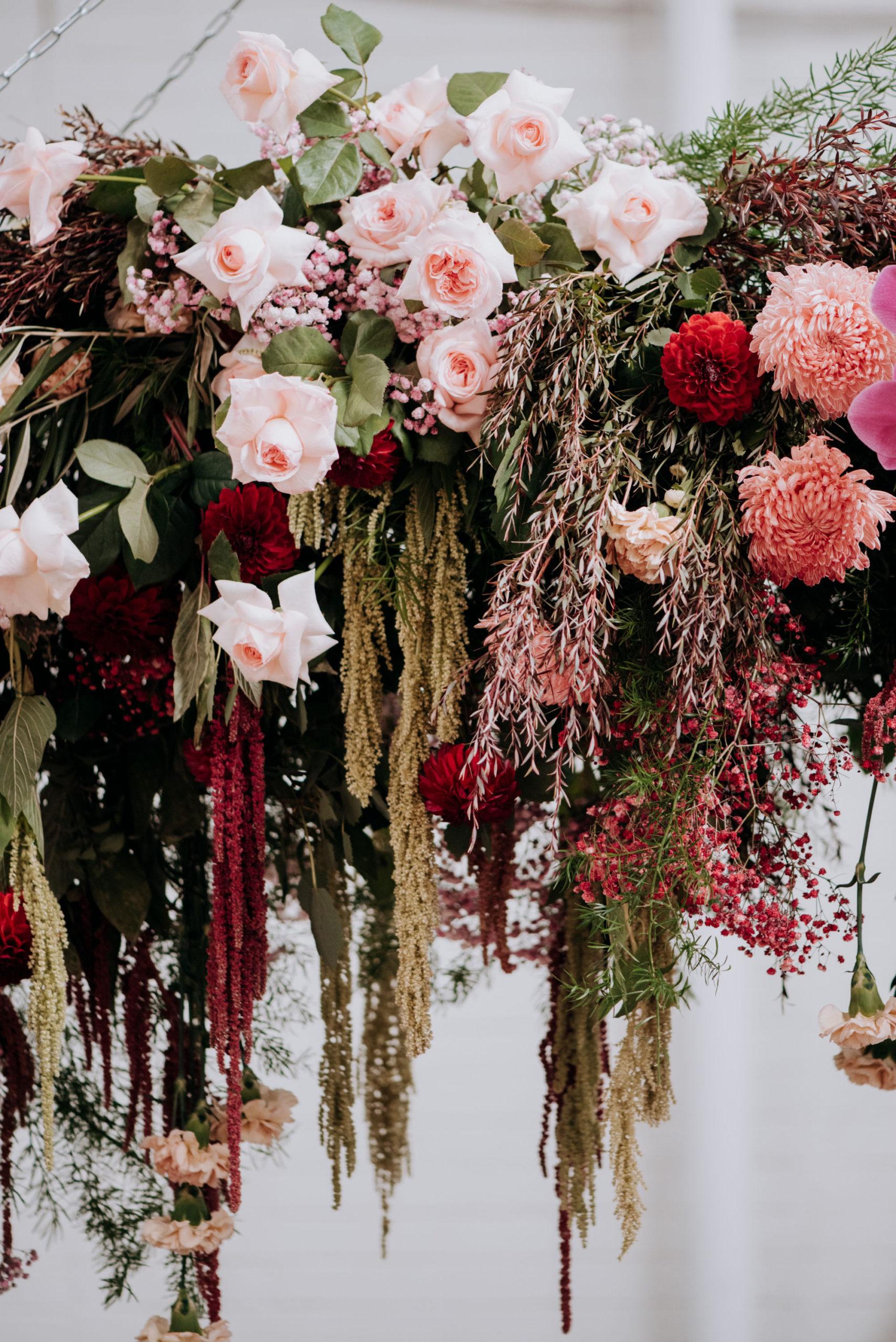 Melbourne Event Florist Hanging Suspended Flowers | Thrive Flowers & Events Melbourne