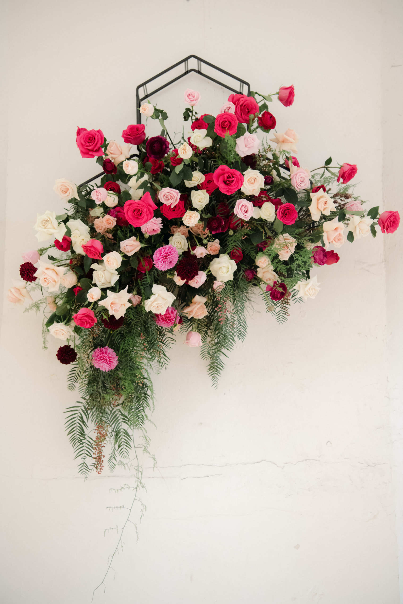 Melbourne Wedding Florist Ceremony Backdrop Flowers 3 Scaled | Thrive Flowers & Events
