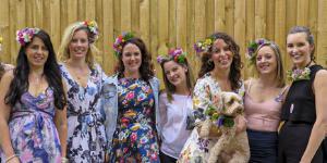 Hens Parties | Thrive Flowers, Collingwood Flower Crown Workshops