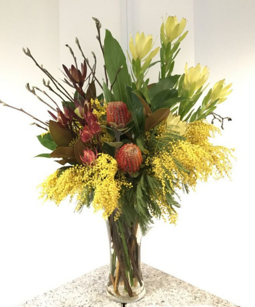 corporate and cafe flowers australian