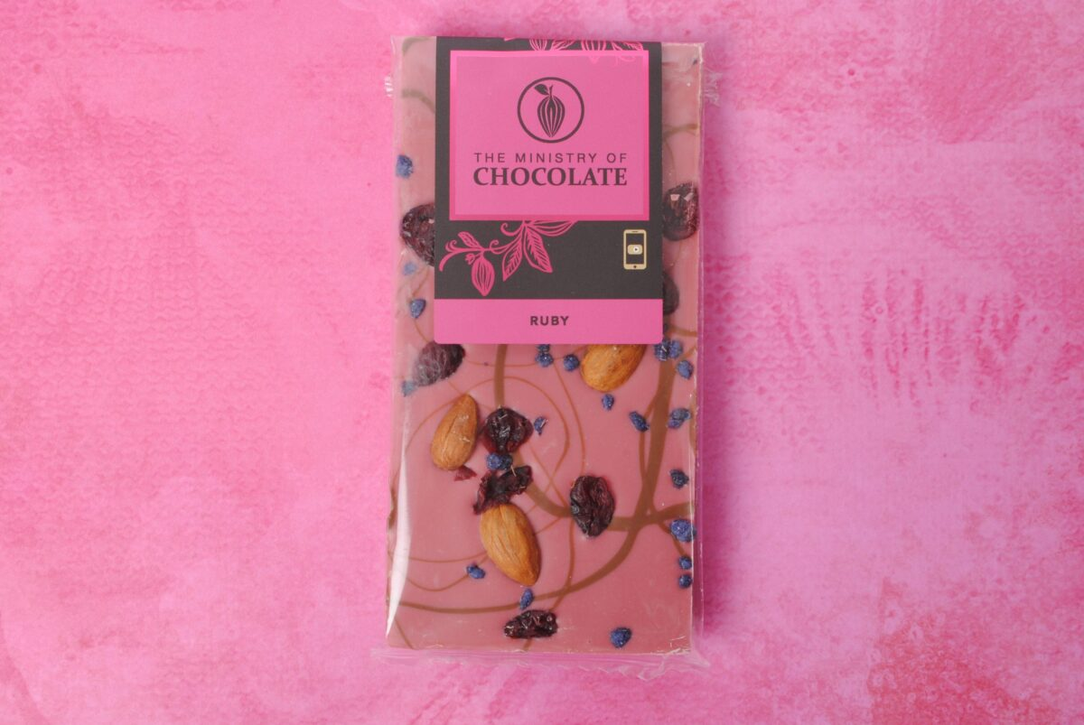 Chocolate with Flower Delivery Melbourne: Ruby Belgian Chocolate | Thrive Flowers & Events