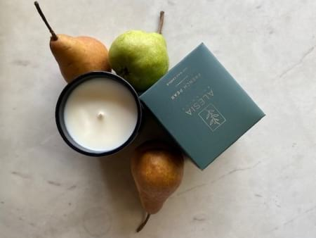 """""""French Pear"""" soy Candle   Order Online Gifts & Flower Delivery Melbourne, Thrive Flowers"""